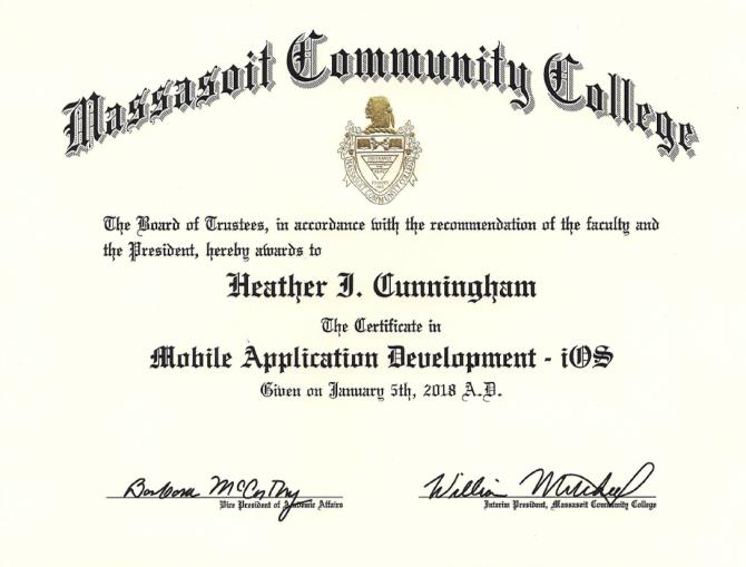 iOS Development Certification