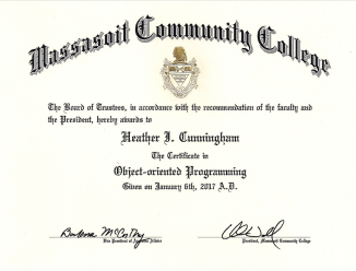Object Oriented Programming Certification